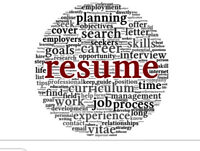 Professional Resume and Cover letter Writing and Editing