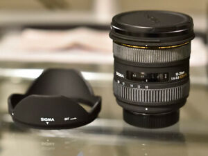 Sigma 10-20mm f/4-5.6 EX DC HSM Lens for Nikon mount