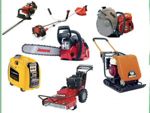 CASH FOR YOUR BROKEN CHAINSAW, LAWN MOWER, TRIMMERS, ETC