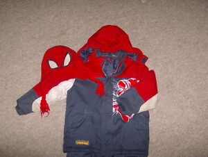 Spiderman Snowsuit - Size 5 London Ontario image 1