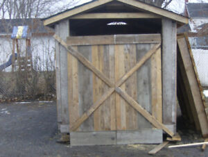 Newly Built  6ft  x  9ft  Shed !