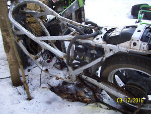 Honda Interceptor 1000 frame VF1000