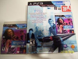 singstar party pack-ensemble de fete dance PS3