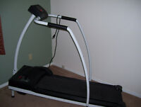 Electric exercise walker