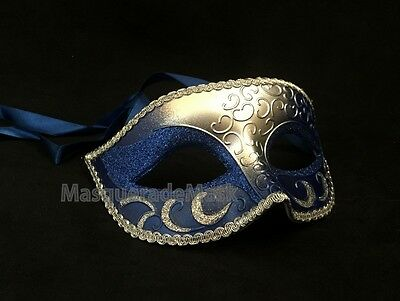 Popular Mens Unisex Masquerade Mask Costume Dressup Prom Bridal Party eye Mask (Popular Costumes For Men)
