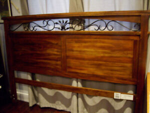 Head Board for King Size Bed - Great for the cottage