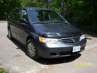 2003 Honda Odyssey minivan EXCELLENT condition LOTS OF NEW PARTS