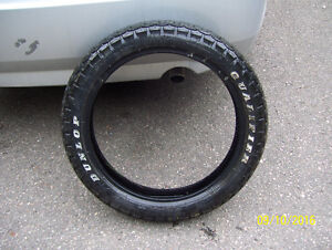 Motorcycle tire Bridgestone Qualifier 110/90-18 excellent