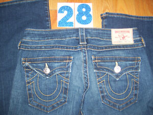 Huge Lot of Womens True Religion Jeans 5 Total Size 28, 29, 31 Cambridge Kitchener Area image 1