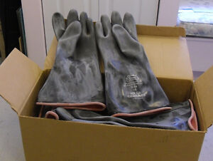 10 Pairs of Tri-Ply Industrial Heavy Duty Work Gloves
