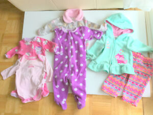 Baby Girl Great Clothes (3-6 m.) (6 = $2.00ea.) Jumpers, Suit Pl