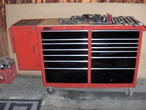 52 ' Roll cabinet and tools
