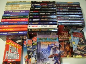 Lot de livres Star Trek (star wars) en anglais