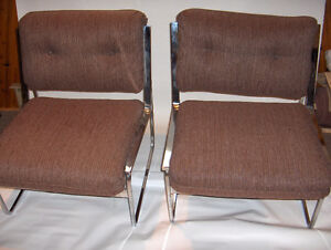 4 LARGE reception chairs