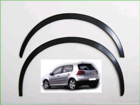 VW GOLF Mk5 V, Year 2003–2008 Wheel Arch Trim cover set 4 pcs.
