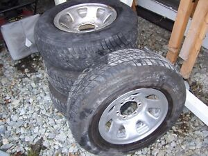 6 bolt chevy or toyota tires and rims
