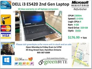 Dell i3 2nd Gen e5420  Win 10 Pro  office 10