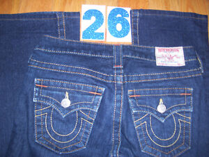 Huge Lot of Womens True Religion Jeans 10 Total Sizes 26 + 27 Cambridge Kitchener Area image 2