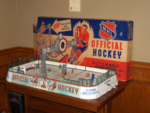 WANTED: OLD VINTAGE TABLE TOP HOCKEY GAME