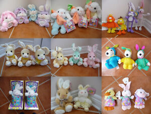 Variety of Brand New Plush Critters - Different Styles & Colours