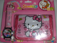 "Montre & porte-monnaie ""Hello Kitty"""