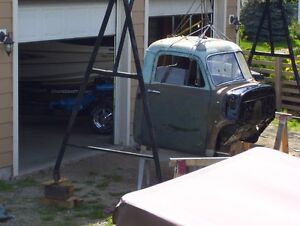 wanted 48-54 chev truck cab with bc regi