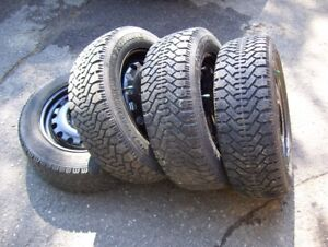 4 roues hiver 15 p.  pour  Ford Focus . 195/60r15 ( Fiesta )