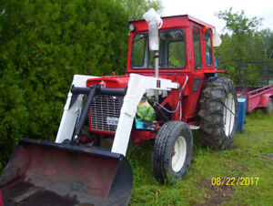 tracteur internationnal 434