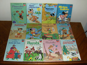 "Livres Disney ""vintage"" (3 photos)"