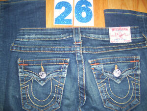 Huge Lot of Womens True Religion Jeans 10 Total Sizes 26 + 27 Cambridge Kitchener Area image 3
