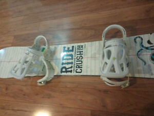snowboard- board and boots