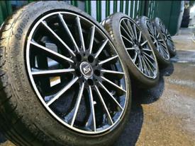"18"" Msw oz racing alloy wheels 5x112 Audi Golf Seat Skoda Mercedes TT"