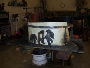 bear and cub fire ring