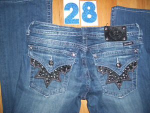 Huge Lot of Womens Miss Me Jeans 4 Total Size 28 + 29 + 30 Cambridge Kitchener Area image 2