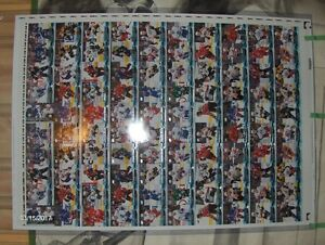 UPPER DECK ... UNCUT SHEET 16-17 YOUNG GUNS .. 2 sets/2 Matthews