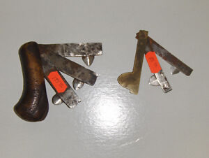 Bloodletting knives   ONE ON LEFT HAS SOLD Gatineau Ottawa / Gatineau Area image 1