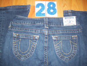 Huge Lot of Womens True Religion Jeans 5 Total Size 28, 29, 31 Cambridge Kitchener Area image 2