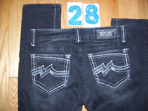 Huge Lot of Womens Miss Me Jeans 4 Total Size 28 + 29 + 30 Cambridge Kitchener Area image 1