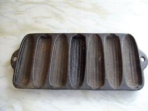 CAST IRON 5 LOAF CORN BREAD MOLD, NOT MARKED