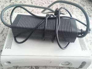 Original Xbox 360 with power supply in good condition