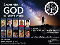 Experiencing GOD: 38th World Religions Conference