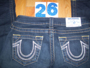 Huge Lot of Womens True Religion Jeans 10 Total Sizes 26 + 27 Cambridge Kitchener Area image 1