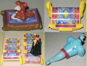 McDonalds 2004 Aladdin - Lot of 11