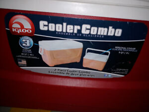 3 piece cooler combo for sale