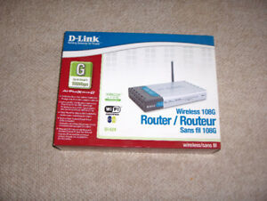 New D-Link 108G Router