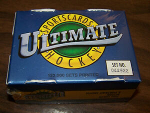1991 Ultimate Hockey Premiere Edition 90 Card Set (new/ sealed)