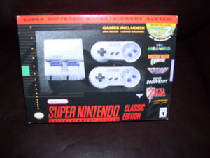 Super Nintendo SNES Classic Edition SEALED with receipt
