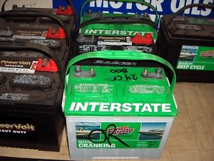 Interstate Batteries On Sales New ,Blem & Recon, Marine & R/V London Ontario image 2