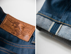 Naked and Famous x Jelly Bean x Big John - Super Skinny Denim
