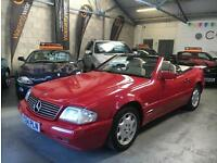 Mercedes-Benz SL280 2.8 AUTOMATIC Convertible Hard Top Low Mileage 1997 (P)